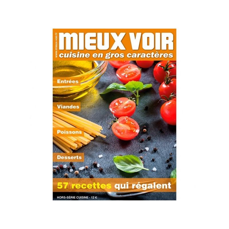 Magazine De Cuisine Gros Caracteres