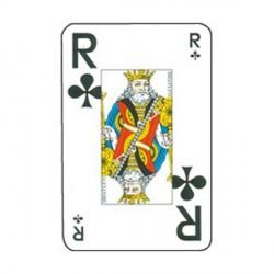Jeux de cartes en grands caractères