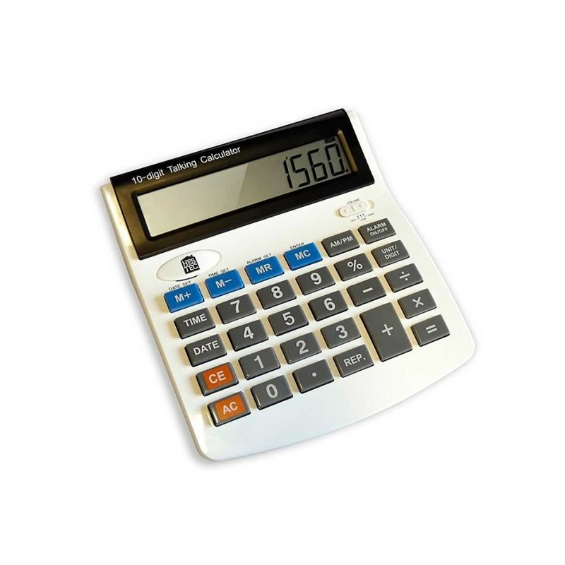 Calculatrice parlante à gros chiffres