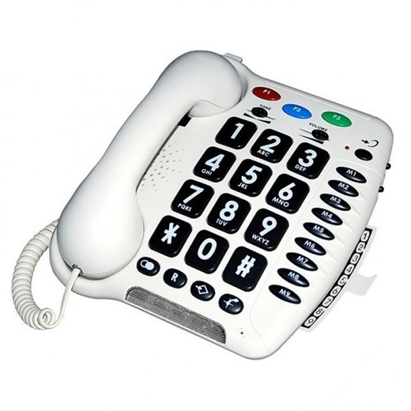 Téléphone grosses touches Geemarc CL100
