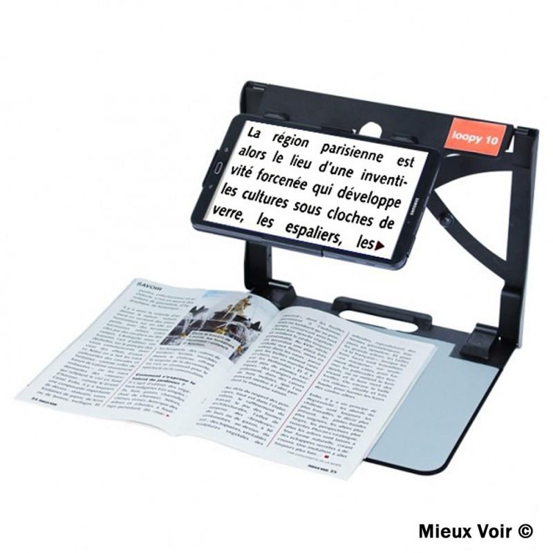 tablette basse vision
