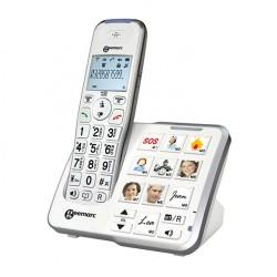 téléphone sans fil gros caractères