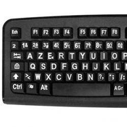 clavier gros caractères