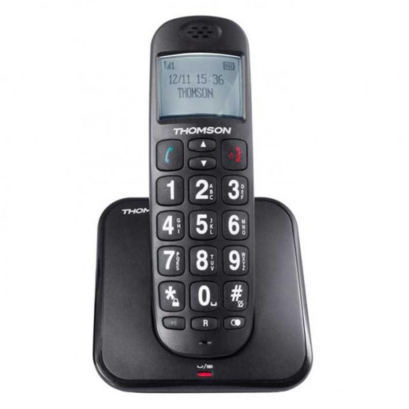 telephone sans-fil avec touche urgence