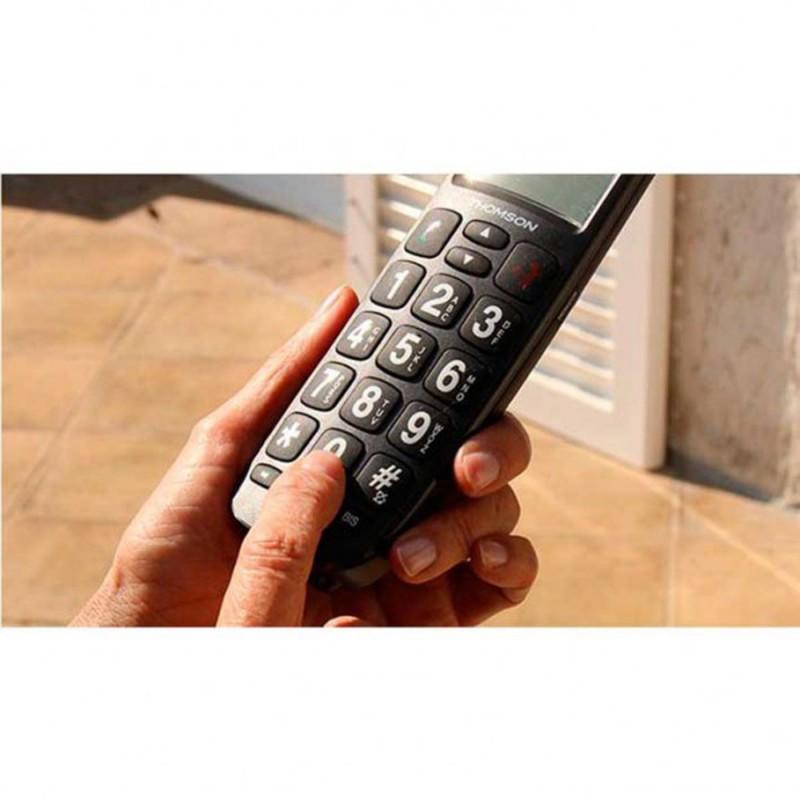 telephone sans-fil avec touche sos