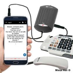 convertisseur telephone voix en texte