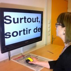 loupe électronique TV