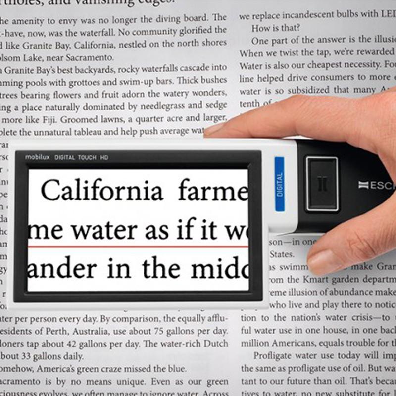 loupe électronique mobilux digital touch HD