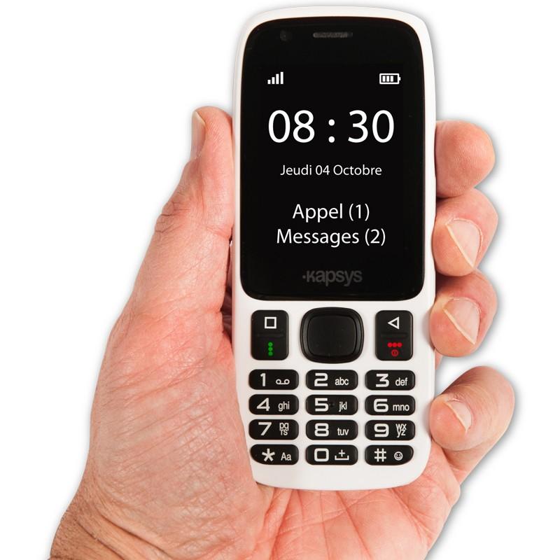 Téléphone portable parlant MINIVISION Kapsys