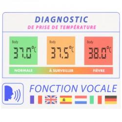 thermomètre parlant