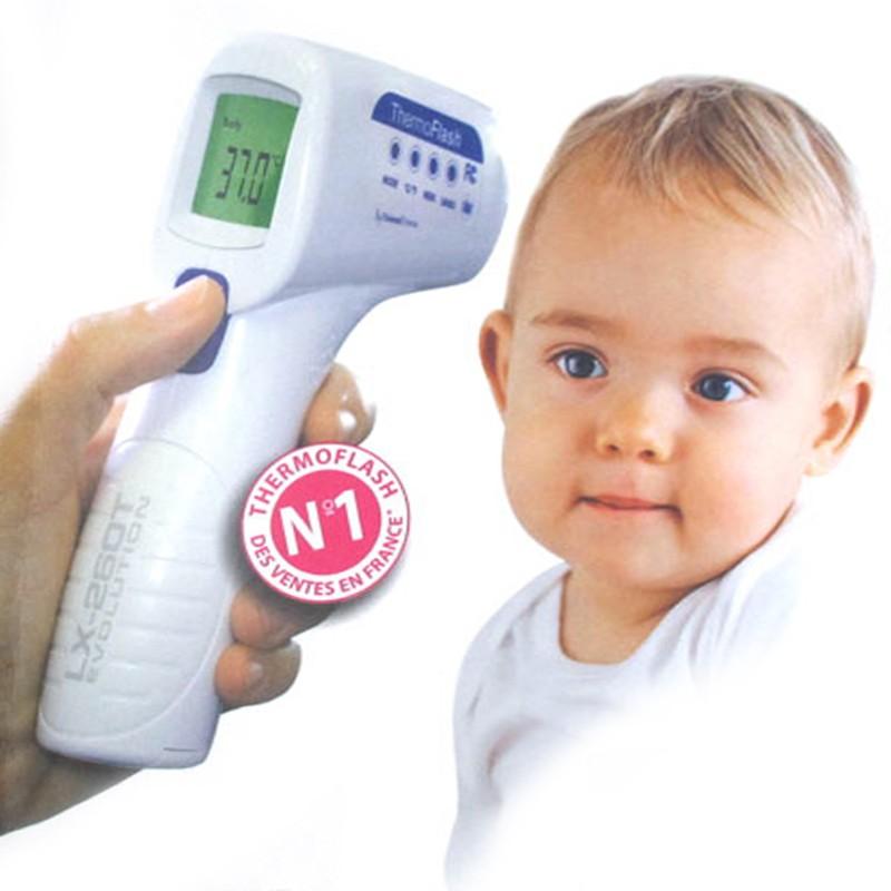 Thermomètre parlant thermoflash
