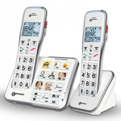 Téléphone Geemarc Amplidect595 Photo Duo