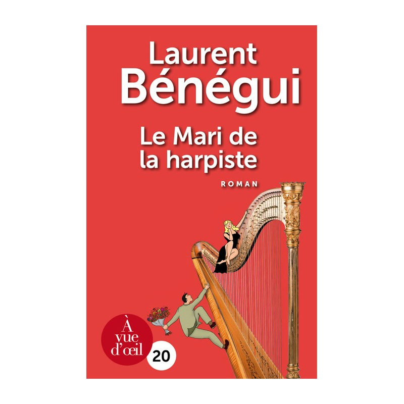 Livre en gros caractères - Le Mari de la harpiste