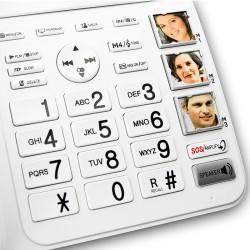 Téléphone fixe gros caracyères Geemarc CL595