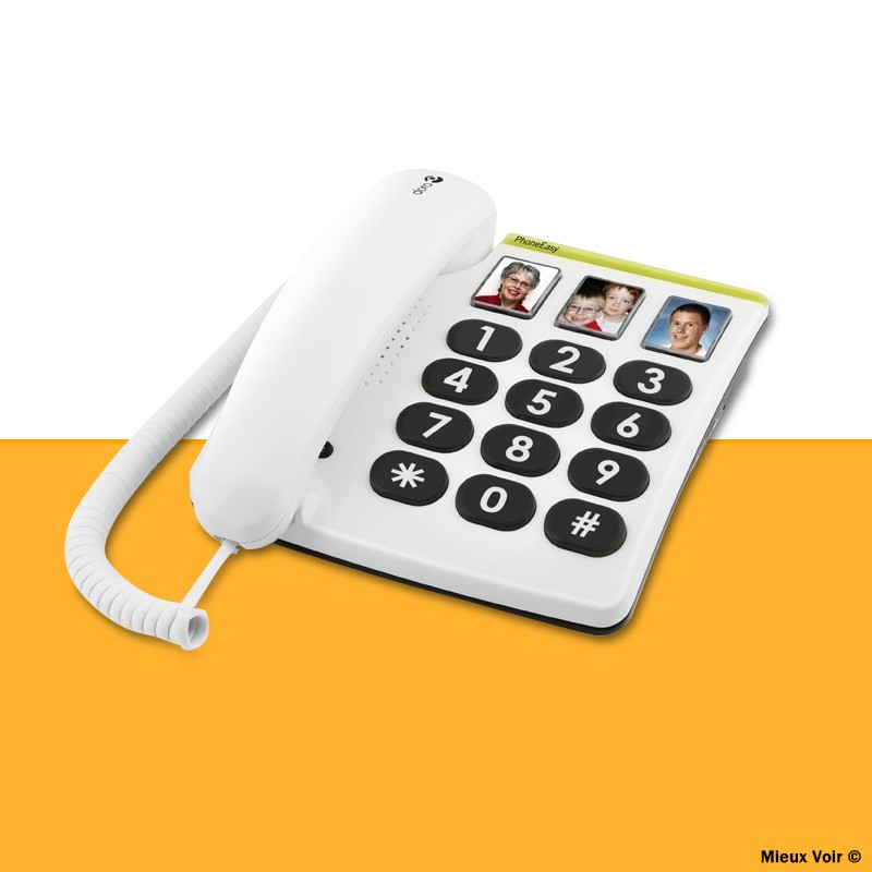 Téléphone grosses touches Doro PhoneEasy 331ph