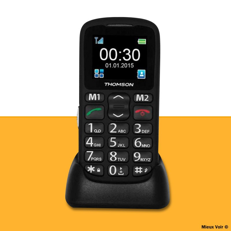 téléphone avec touche sos Thomson serea 51