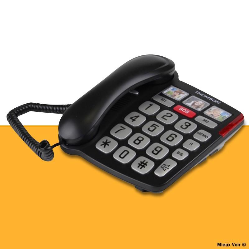 téléphone à grosses touches Thomson