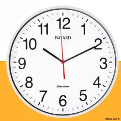 horloge géante à gros chiffres