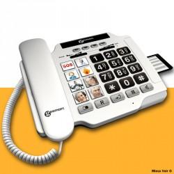 Téléphone seniors à grosses touches - Geemarc Photophone 100