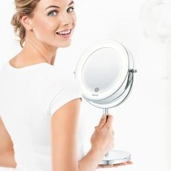 Miroir grossissant éclairant sur socle BS 55 BEURER