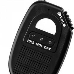 Mini horloge parlante, porte clés -  Minnie Talk