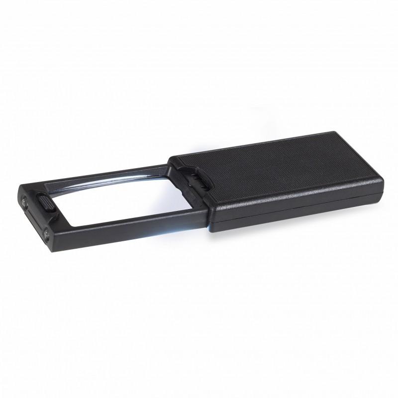 Loupe de poche extractible LED