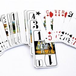 Jeux de tarot en grands caractères pour senior et malvoyants