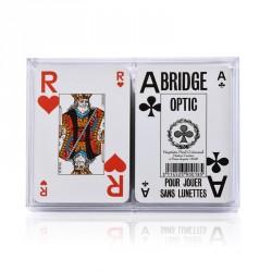 Jeux de bridge en grands caractères pour malvoyants