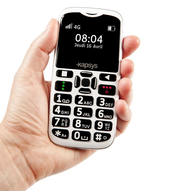 Kapsys MiniVision 2, téléphone portable simple à utiliser
