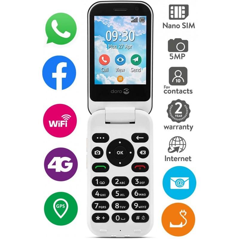 Fonctionnalités du téléphone Doro 7080