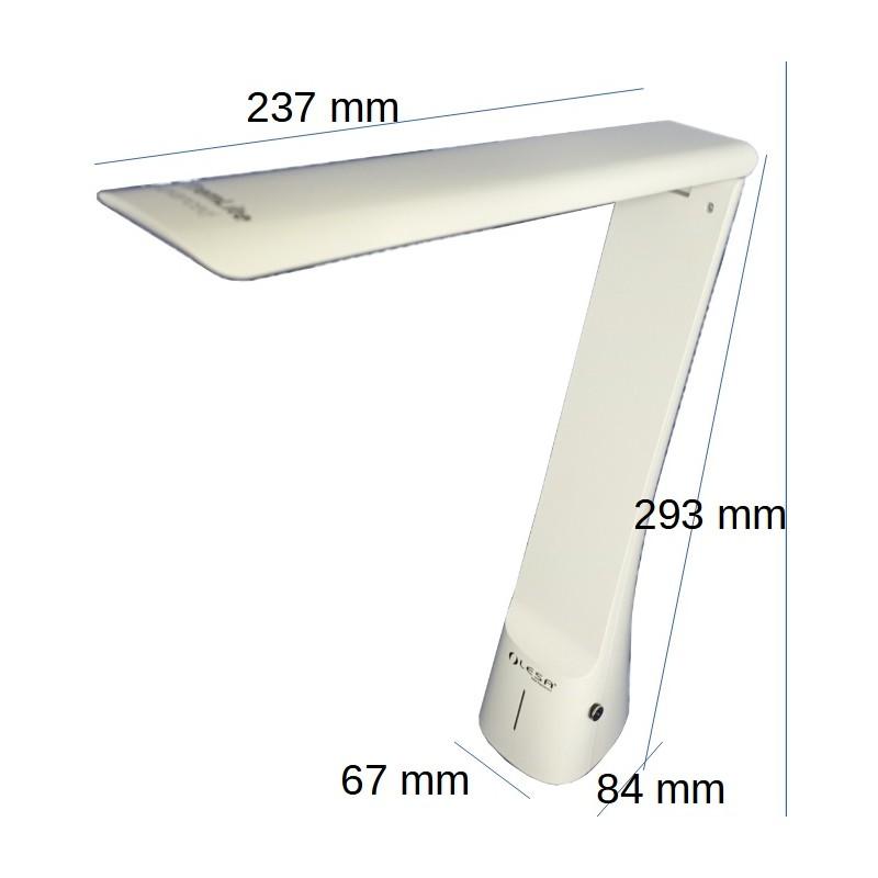 Dimensions de la lampe X'TremLite Advanced Lesa