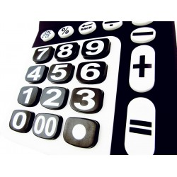 Calculatrice grosses touches malvoyants