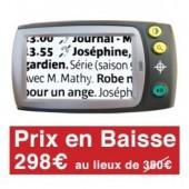Téléphone mobile avec bouton SOS - SERA 51 BLANC