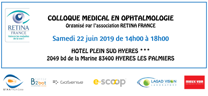 Colloque medical RETINA FRANCE