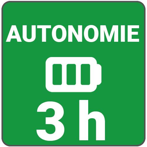 autonomie 3h