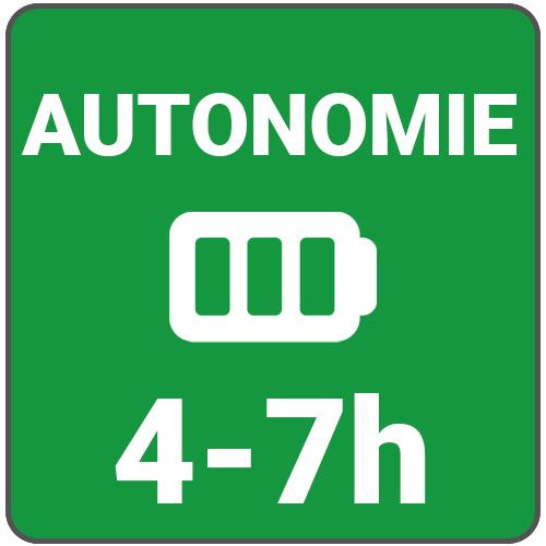 autonomie 4 a 7 h