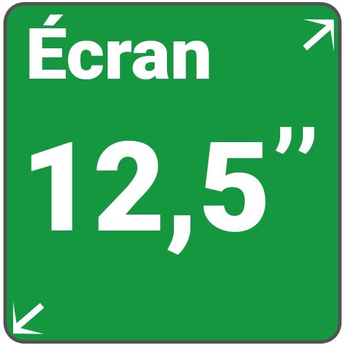 ecran 12,5 pouces