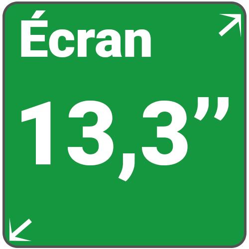ecran 13,3 pouces