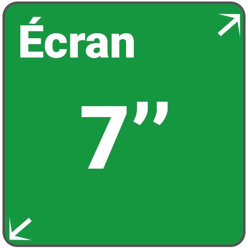 ecran 7 pouces