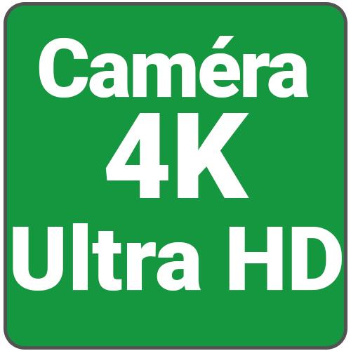Caméra ultra HD 4 K