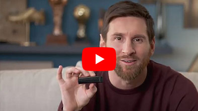 Lionel Messi devient Ambassadeur d'OrCam
