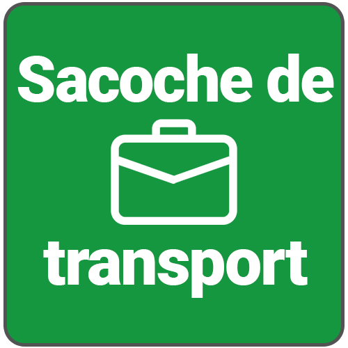 sacoche de transport