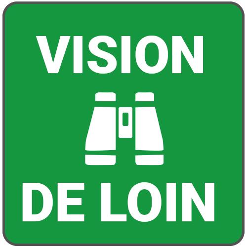 mode vision de loin