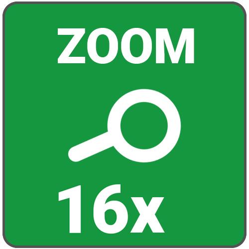zoom max 16x
