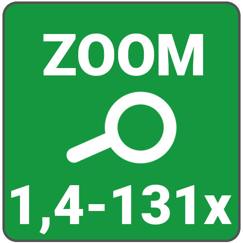 zoom 1,4 a 131x
