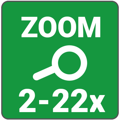 zoom 2 a 20x