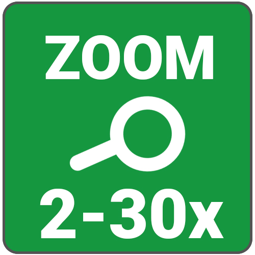 zoom 2 a 30x