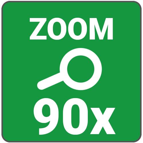 zoom max 90x